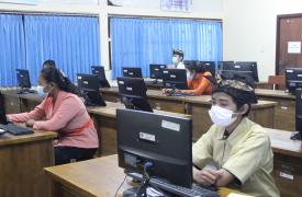 Seleksi KSN tingkat Kabupaten/Kota jenjang SMA/MA di SMA N 1 Sukawati telah dimulai.