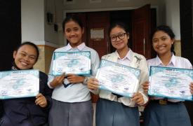 Hebat! KSPAN SUKSMA Berhasil Menjuarai Lomba Debat Bahasa Indonesia Di STMIK STIKOM Indonesia