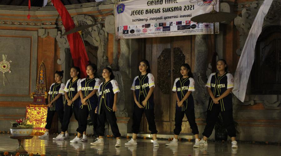 Vampyra Dance Tampil dalam Grand Final Jegeg Bagus SUKSMA 2021