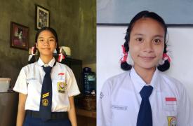 Dua Siswi Kelas 10 SMA Negeri 1 Sukawati Berhasil Raih Prestasi