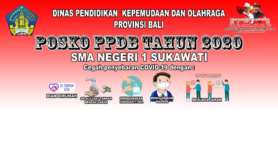 Penerimaan Peserta Didik Baru (PPDB) SMA Negeri 1 Sukawati TA 2020-2021