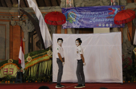 Edukatif dan Kreatif: Penampilan Jungut Sari Teater untuk Ulang Tahun SUKSMA