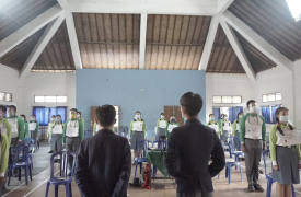 Debat Kandidat Ketua Osis Masa Bhakti 2020/2021, Sebuah Ajang Adu Visi Misi Demi Pemimpin Terbaik