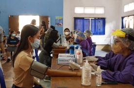 Pelaksanaan Vaksinasi Covid-19 Tahap Ke-2 Siswa/i SMA Negeri 1 Sukawati